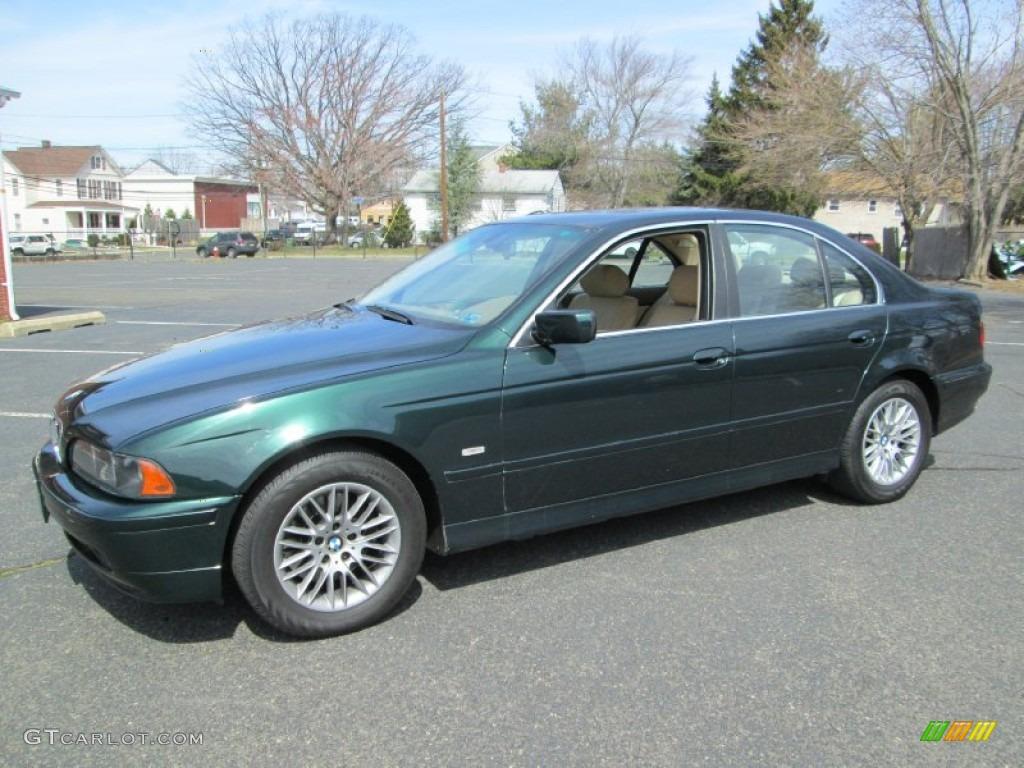 2003 Oxford Green Metallic Bmw 5 Series 530i Sedan