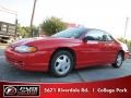 Bright Red 2002 Chevrolet Monte Carlo SS