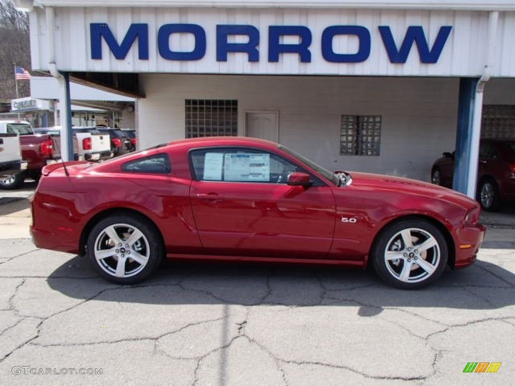 2014 ruby red ford mustang gt premium coupe 79320234. Black Bedroom Furniture Sets. Home Design Ideas