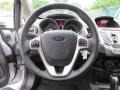 Charcoal Black Steering Wheel Photo for 2013 Ford Fiesta #79368928