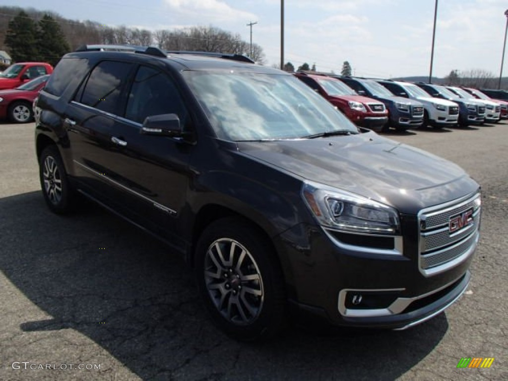 2013 Acadia Denali AWD - Iridium Metallic / Ebony photo #4