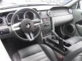 Charcoal Black/Dove 2008 Ford Mustang Interiors