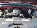 2001 Sunset Orange Metallic Chevrolet Silverado 1500 LS Extended Cab 4x4  photo #13