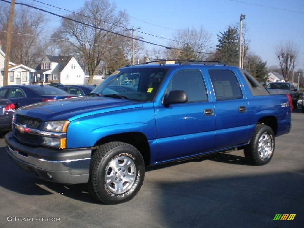 Chevy Vin Decoder >> 2003 Arrival Blue Chevrolet Avalanche 1500 Z71 4x4 #79372099 | GTCarLot.com - Car Color Galleries