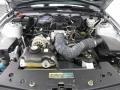 2007 Satin Silver Metallic Ford Mustang V6 Deluxe Convertible  photo #10