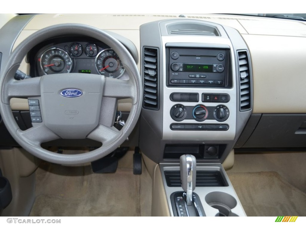2007 ford edge se awd dashboard photos. Black Bedroom Furniture Sets. Home Design Ideas