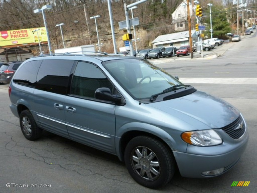 2003 Town & Country Limited - Butane Blue Pearl / Taupe photo #1