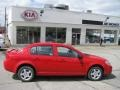 2007 Victory Red Chevrolet Cobalt LS Sedan  photo #2