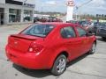 2007 Victory Red Chevrolet Cobalt LS Sedan  photo #3