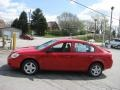 2007 Victory Red Chevrolet Cobalt LS Sedan  photo #5