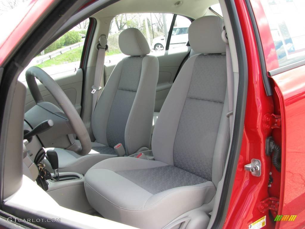 2007 Cobalt LS Sedan - Victory Red / Gray photo #9