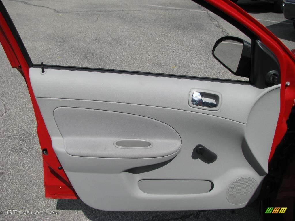 2007 Cobalt LS Sedan - Victory Red / Gray photo #10