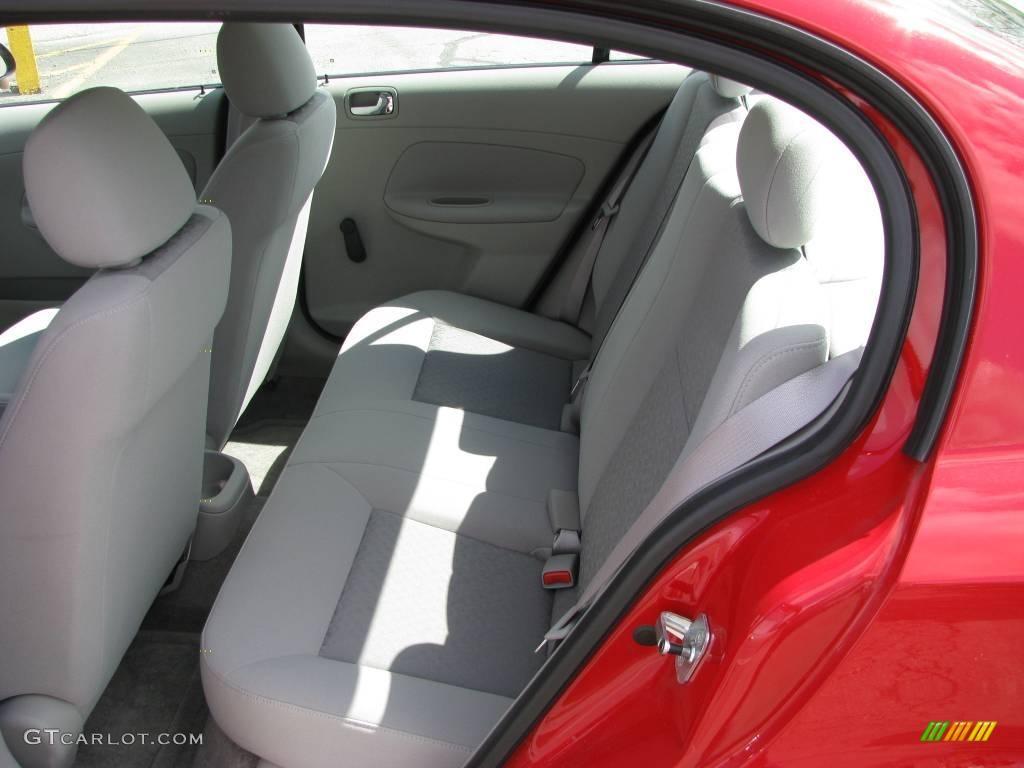2007 Cobalt LS Sedan - Victory Red / Gray photo #13