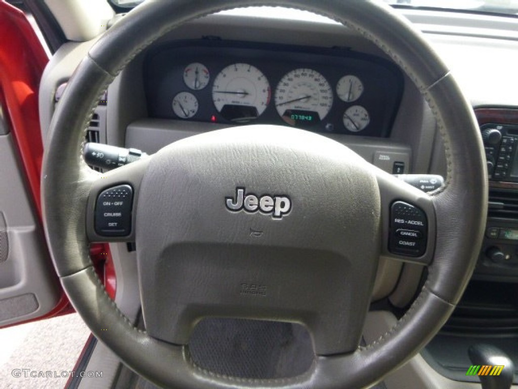 2004 jeep grand cherokee limited 4x4 steering wheel photos. Black Bedroom Furniture Sets. Home Design Ideas
