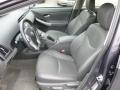 Dark Gray 2010 Toyota Prius Interiors