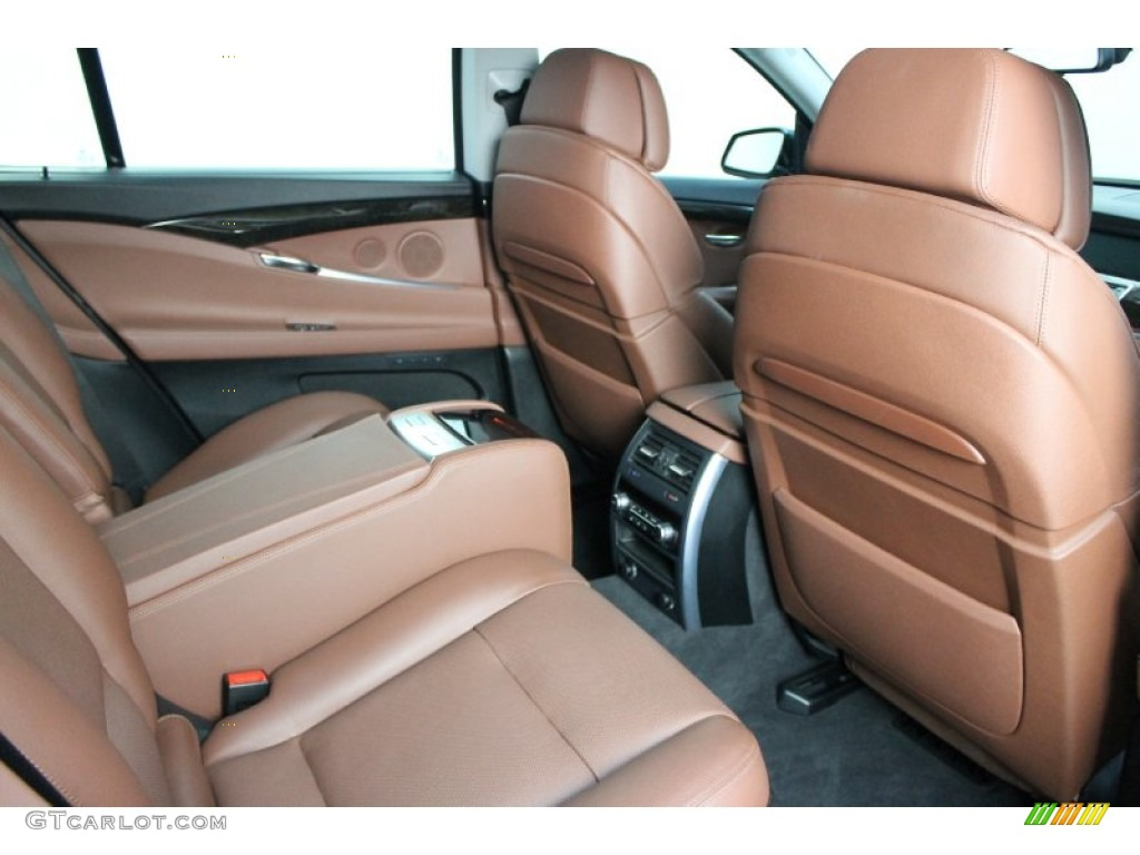 Cinnamon Brown Dakota Leather Interior 2010 Bmw 5 Series 535i Gran Turismo Photo 79427721