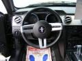 2005 Ford Mustang Dark Charcoal Interior Steering Wheel Photo