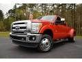 F1 - Vermillion Red Ford F350 Super Duty (2011-2015)