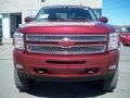 2013 Deep Ruby Metallic Chevrolet Silverado 1500 LT Crew Cab 4x4  photo #2
