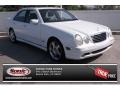 Glacier White 2001 Mercedes-Benz E 430 Sedan