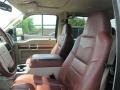 2009 Ford F250 Super Duty Chaparral Leather Interior Front Seat Photo