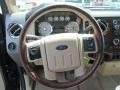 2009 Ford F250 Super Duty Chaparral Leather Interior Steering Wheel Photo