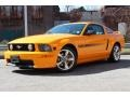 Grabber Orange 2008 Ford Mustang GT/CS California Special Coupe