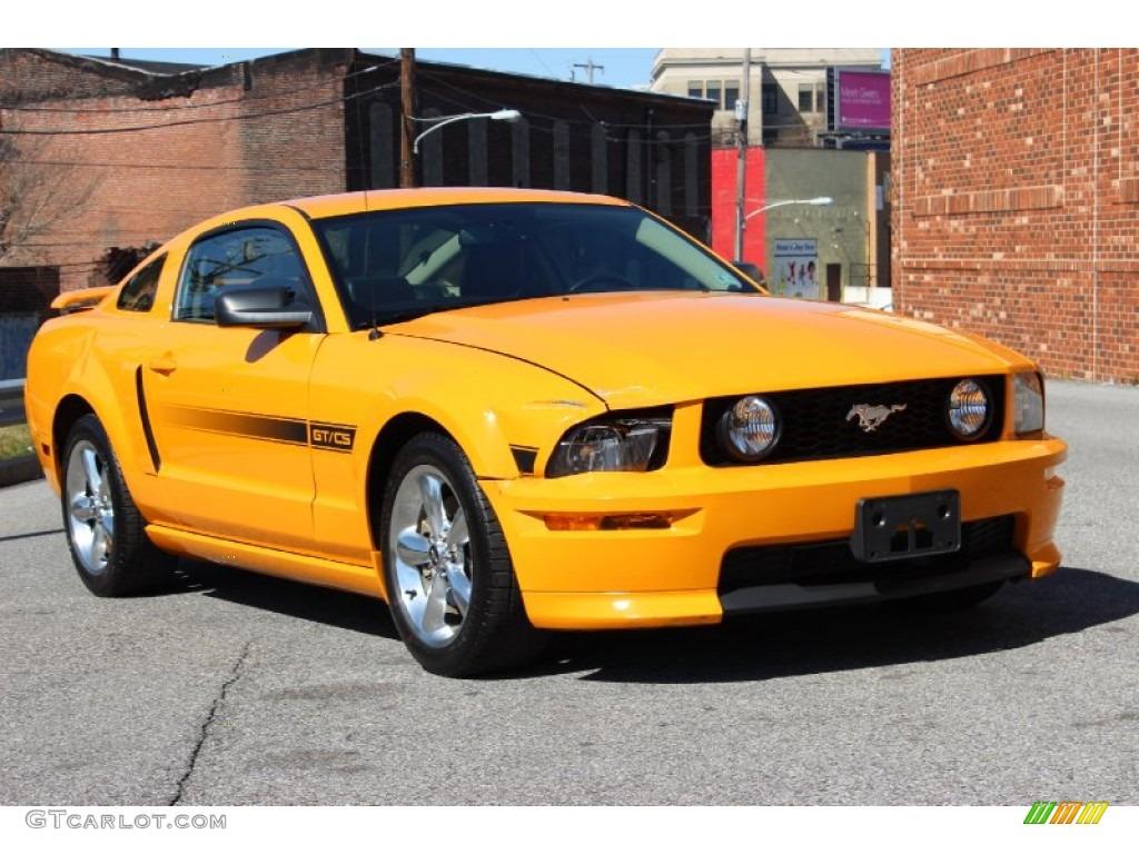 Grabber Orange 2008 Ford Mustang Gt Cs California Special