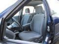 Quartz Gray 2002 Honda Accord Interiors