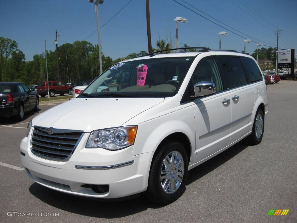 2008 stone white chrysler town country limited 7922279 for Stone s town country motors