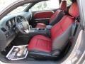 Radar Red/Dark Slate Gray Interior Photo for 2013 Dodge Challenger #79467326