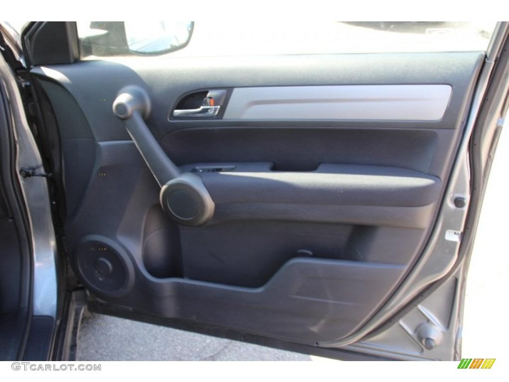 2011 CR-V LX 4WD - Polished Metal Metallic / Black photo #21