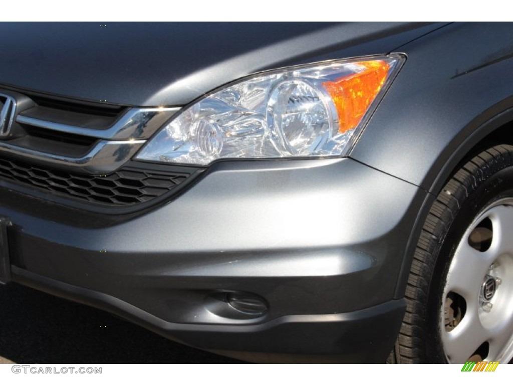 2011 CR-V LX 4WD - Polished Metal Metallic / Black photo #25