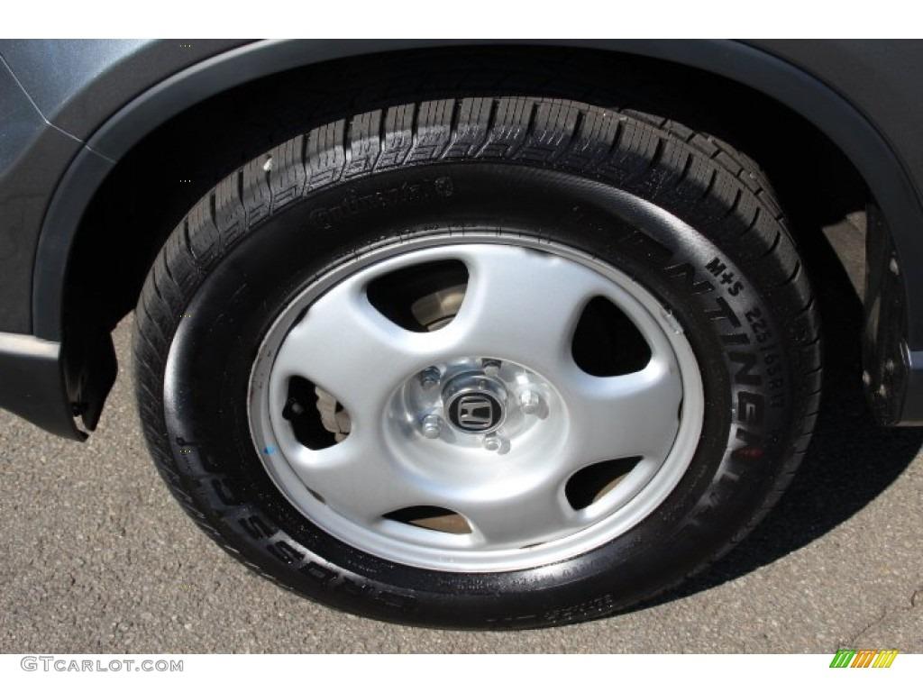 2011 CR-V LX 4WD - Polished Metal Metallic / Black photo #26