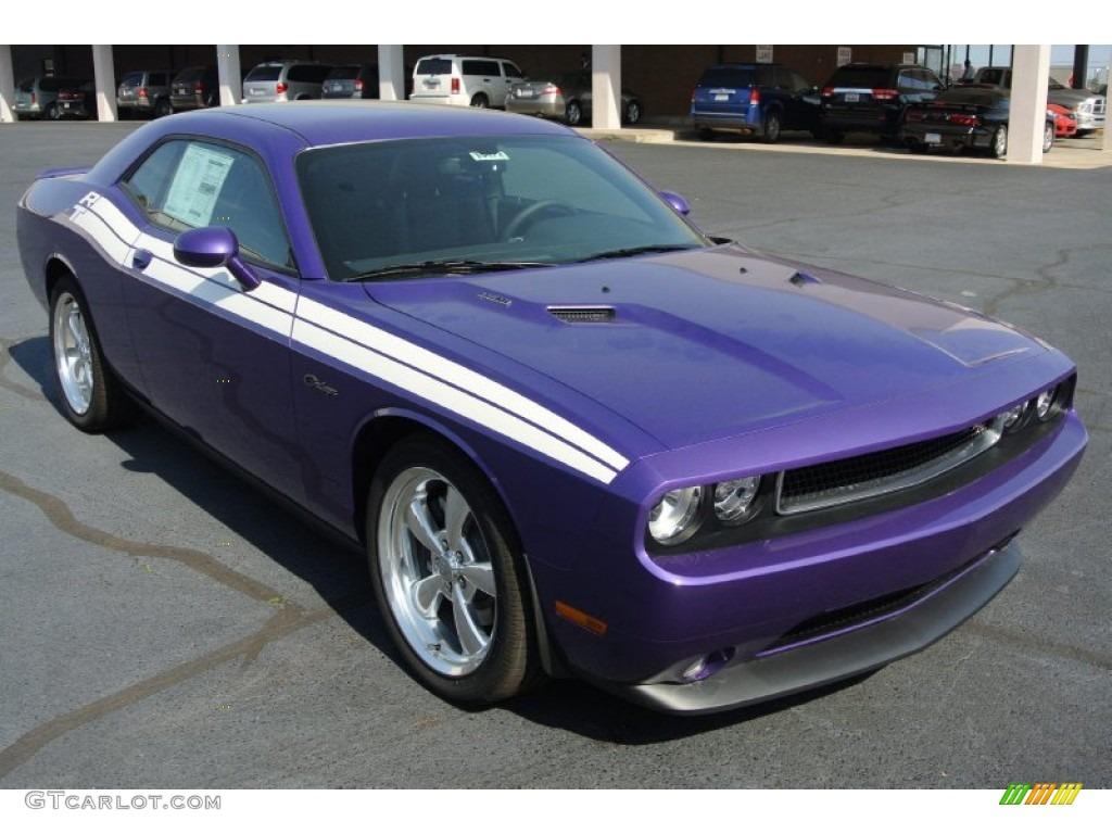 Plum Crazy Pearl Dodge Challenger