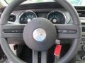 2010 Ford Mustang Stone Interior Steering Wheel Photo