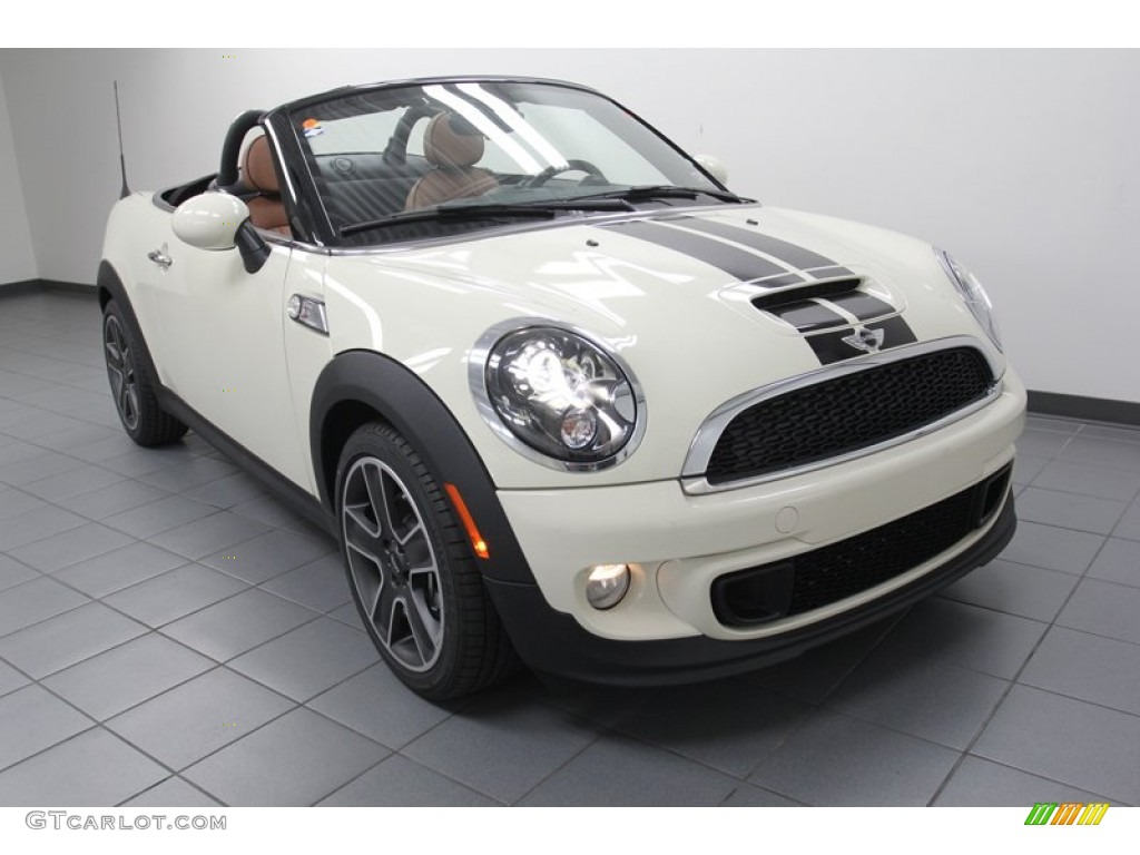 Mini Cooper Ice Blue >> 2013 Pepper White Mini Cooper S Roadster #79463409 | GTCarLot.com - Car Color Galleries