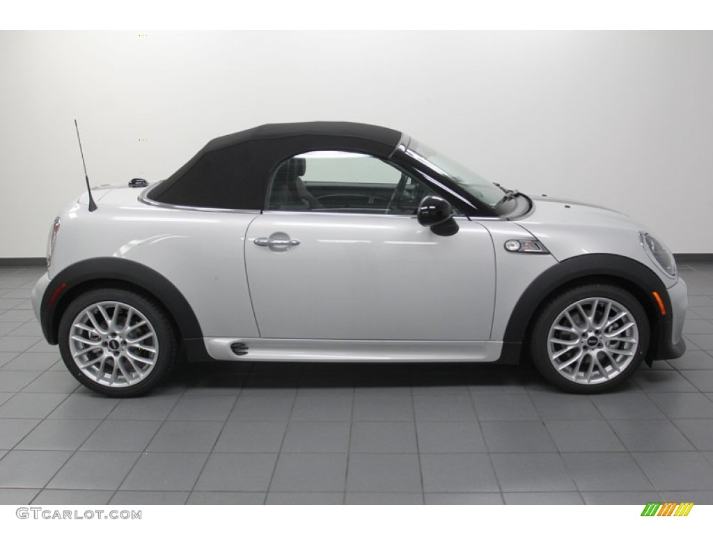 White silver metallic 2013 mini cooper s roadster exterior photo 79486186 Mini cooper exterior accessories