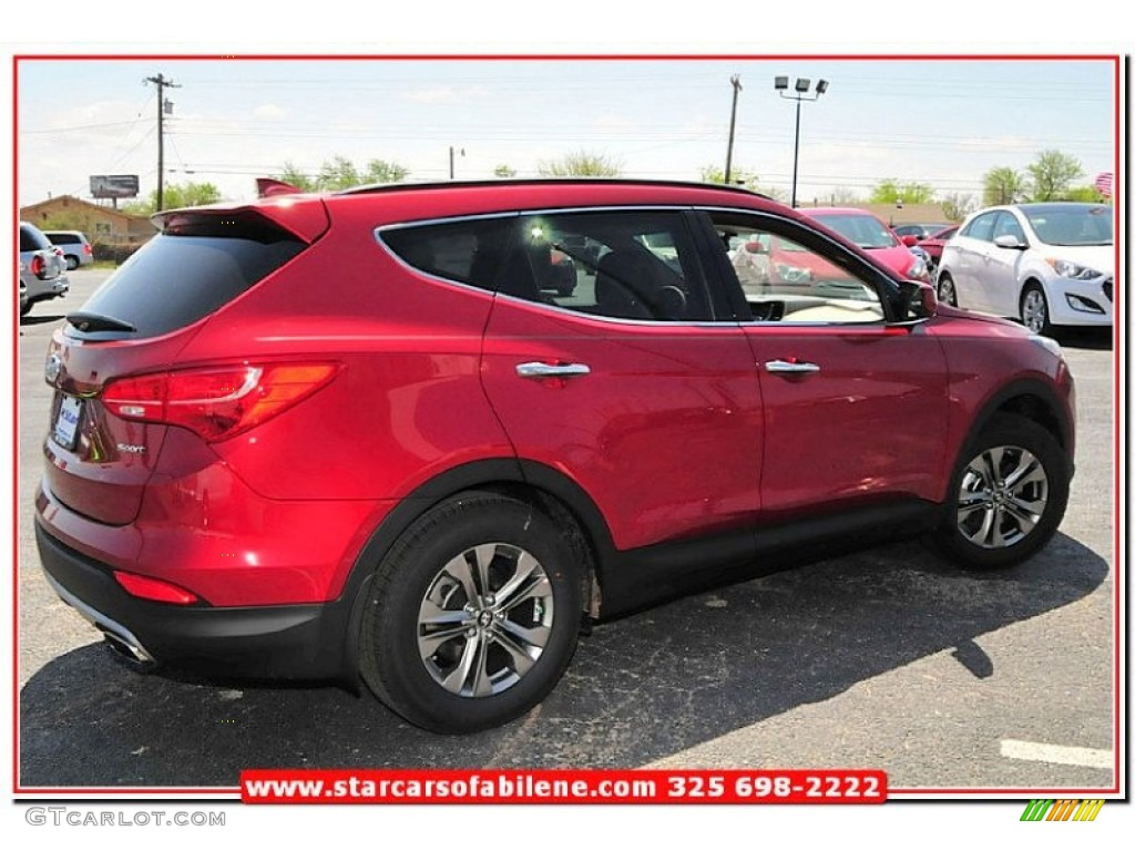 2013 serrano red hyundai santa fe sport 79463378 photo 7 car color galleries. Black Bedroom Furniture Sets. Home Design Ideas