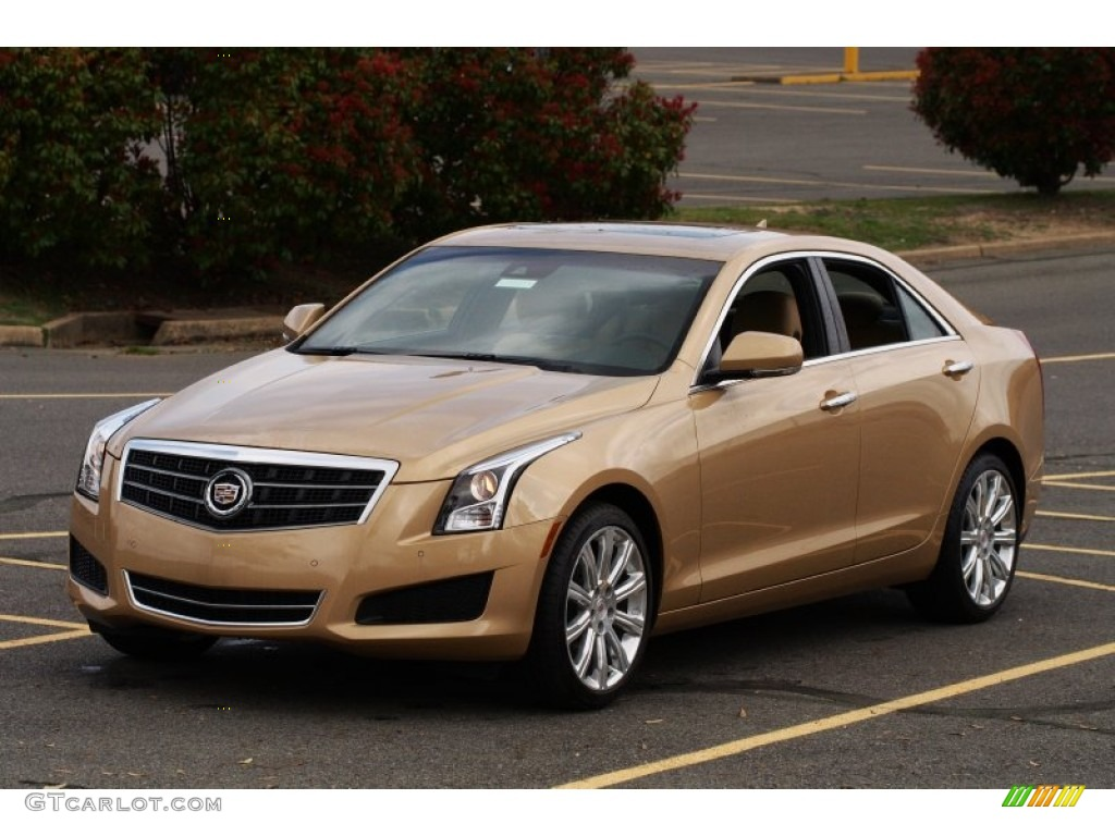 2013 summer gold metallic cadillac ats 25l luxury