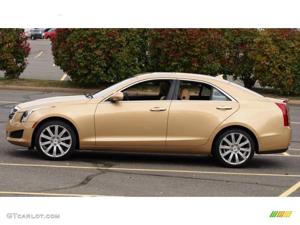 2013 summer gold metallic cadillac ats 2 5l luxury 79463366 photo 2 car color. Black Bedroom Furniture Sets. Home Design Ideas