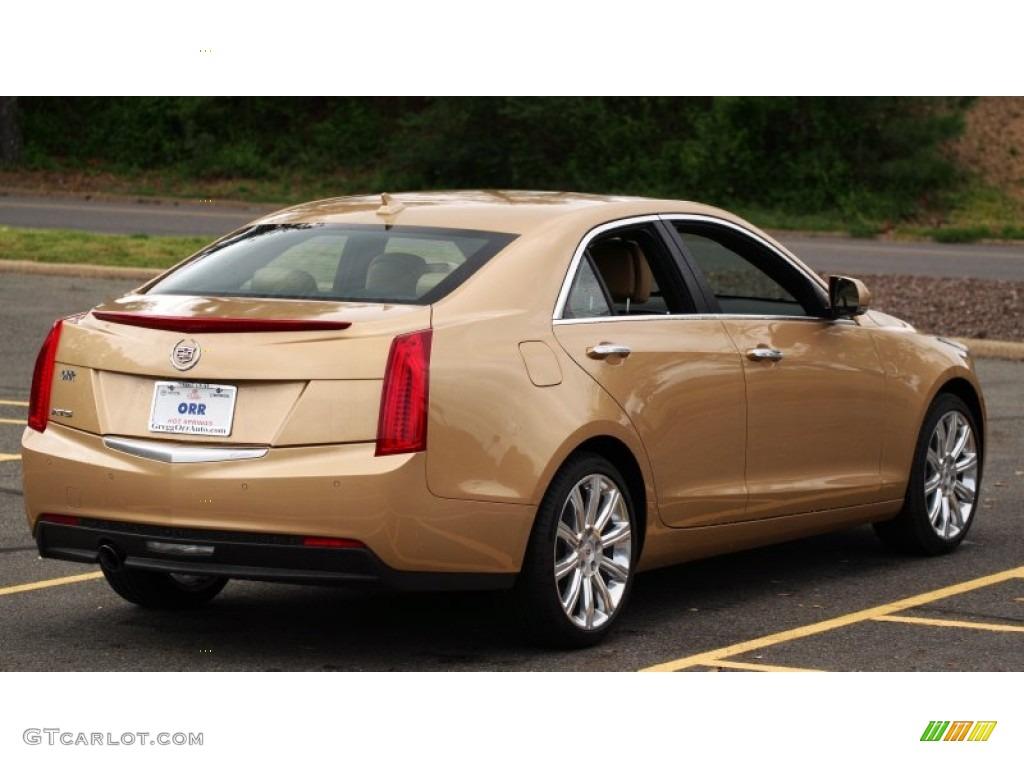 2013 summer gold metallic cadillac ats 2 5l luxury 79463366 photo 5 car color. Black Bedroom Furniture Sets. Home Design Ideas