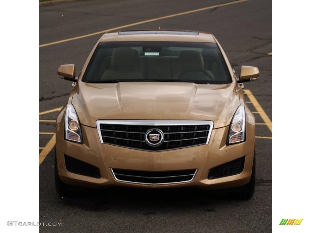 2013 summer gold metallic cadillac ats 2 5l luxury 79463366 photo 8 car color. Black Bedroom Furniture Sets. Home Design Ideas