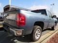 2012 Blue Granite Metallic Chevrolet Silverado 1500 Work Truck Regular Cab  photo #3