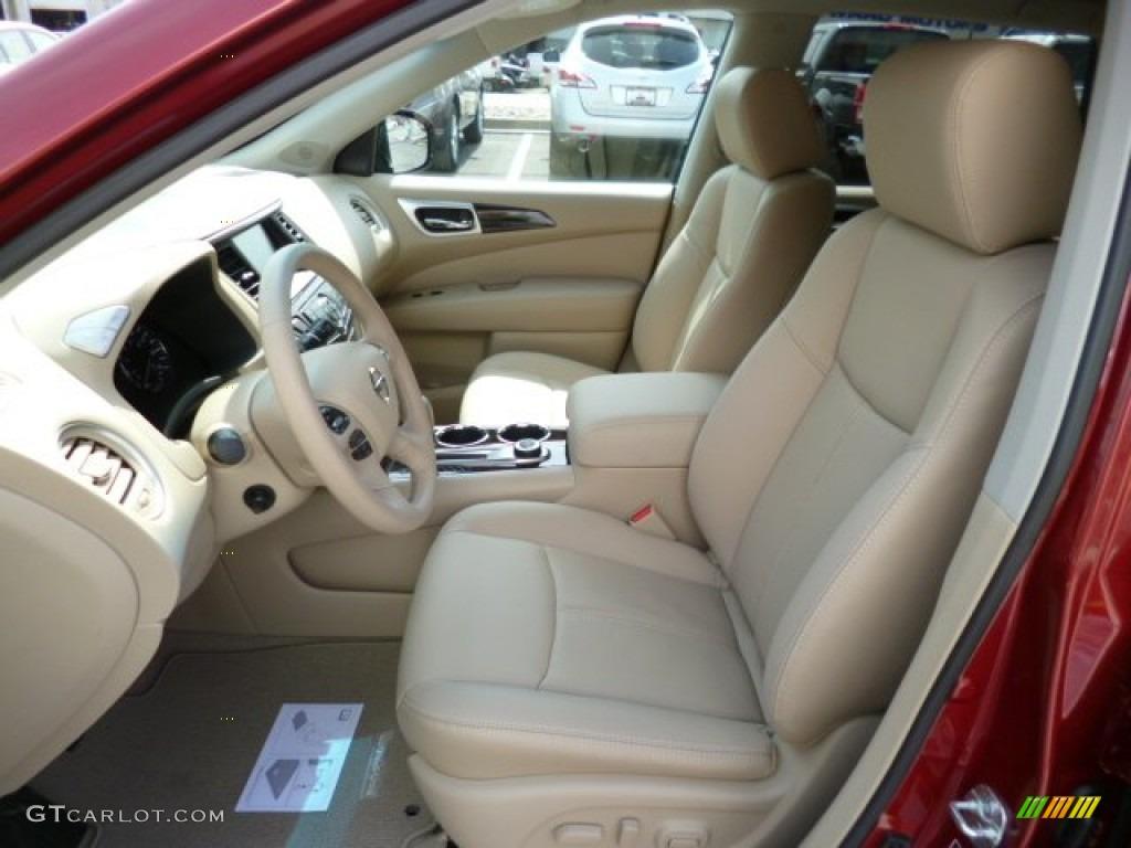 2013 Nissan Pathfinder Platinum 4x4 Interior Color Photos
