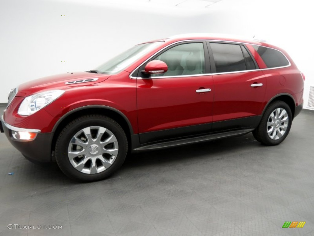 2012 crystal red tintcoat buick enclave fwd 79513733 car color galleries for Buick enclave titanium interior