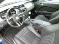 2012 Ford Mustang Charcoal Black/Black Recaro Sport Seats Interior Prime Interior Photo