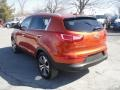 Techno Orange - Sportage EX AWD Photo No. 6