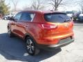 Techno Orange - Sportage EX AWD Photo No. 7