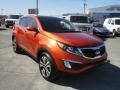 Techno Orange - Sportage EX AWD Photo No. 14